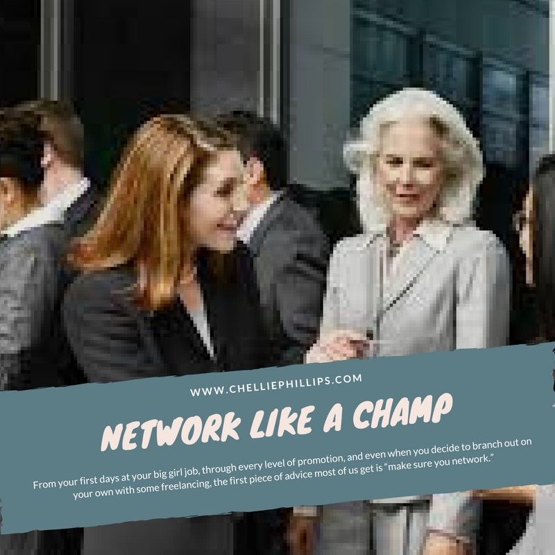 Network like a champ