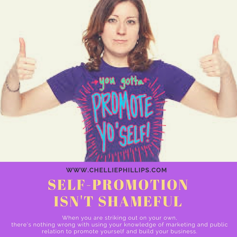 Self-promotion isn't shameful