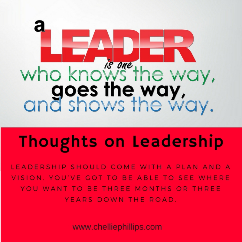 Thoughts on Leadership