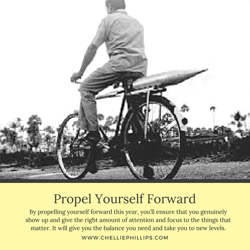 Propel Yourself Forward