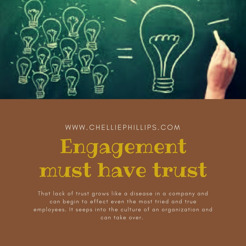 Engagement must have trust