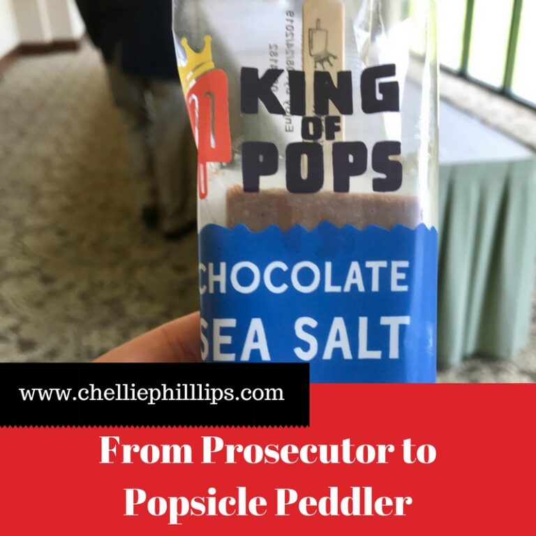 From prosecutor to popsicle peddler