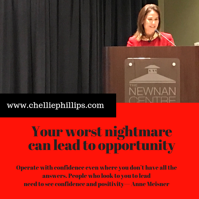 Anne Meisner - worst nightmare leads to opportunity