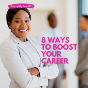 African American female in career setting