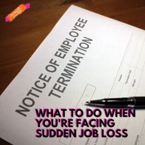 job termination letter on table